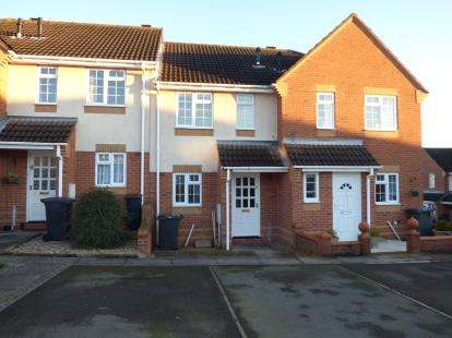 2 Bedrooms Terraced House for sale in Willow Close, Measham, Swadlincote