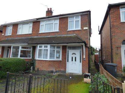 3 Bedrooms Semi Detached House for sale in Eastwood Road, Leicester