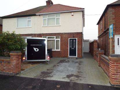 2 Bedrooms Semi Detached House for sale in Mansfield Lane, Calverton, Nottingham, Nottinghamshire