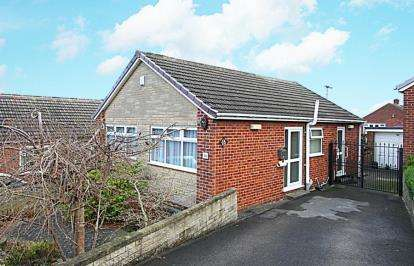 2 Bedrooms Bungalow for sale in Highgate Drive, Dronfield, Derbyshire