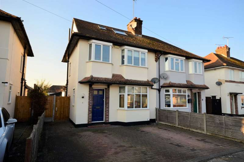 4 Bedrooms Semi Detached House for sale in Pentland Avenue, Chelmsford