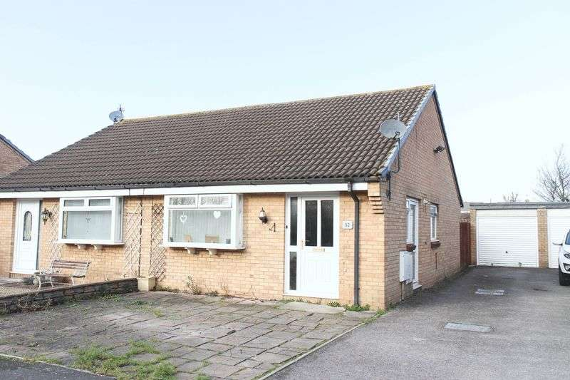 2 Bedrooms Semi Detached Bungalow for sale in Stonebridge, Clevedon