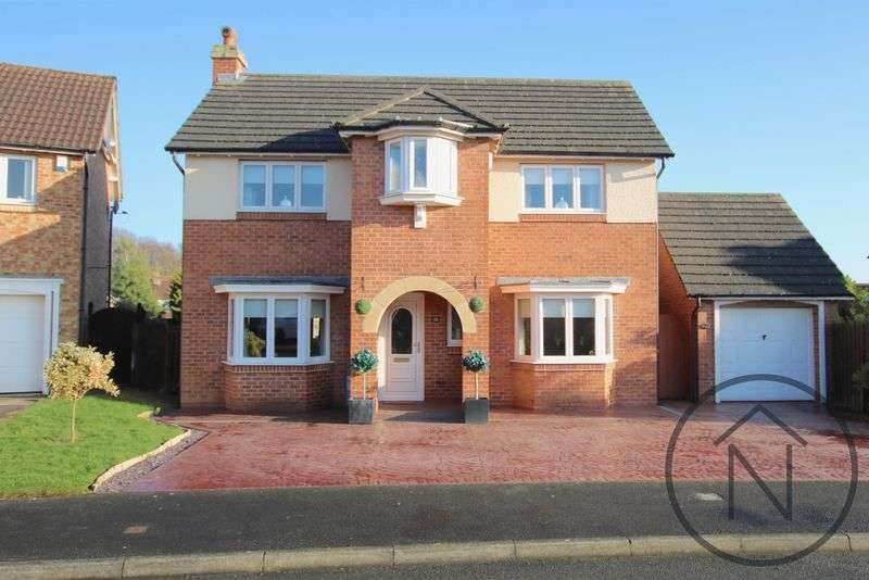 4 Bedrooms Detached House for sale in Karles Close, Newton Aycliffe