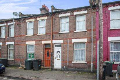 2 Bedrooms Terraced House for sale in Wimborne Road, Luton, Bedfordshire