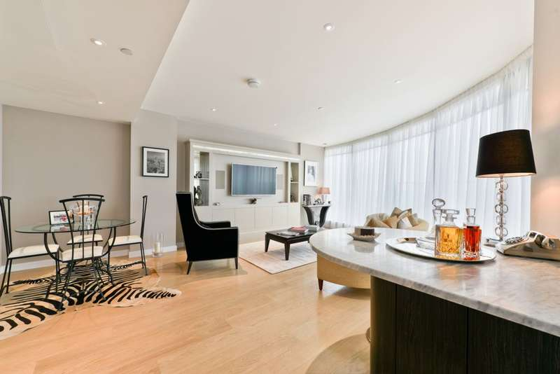 2 Bedrooms Apartment Flat for sale in Charrington Tower, Biscayne Avenue, Canary Wharf, E14