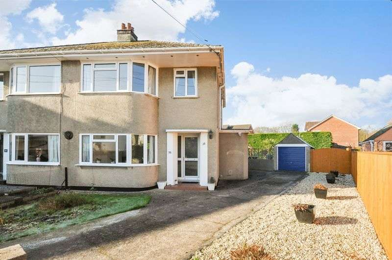 3 Bedrooms Semi Detached House for sale in St. Michaels Road, Kingsteignton