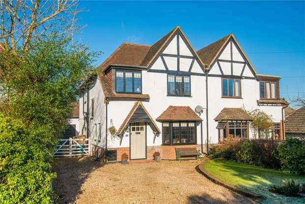 4 Bedrooms Semi Detached House for sale in Hill Rise, Chalfont St Peter, Buckinghamshire