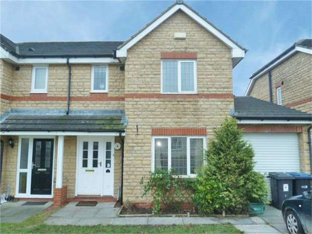 3 Bedrooms Semi Detached House for sale in Parkfield, Coxhoe, Durham