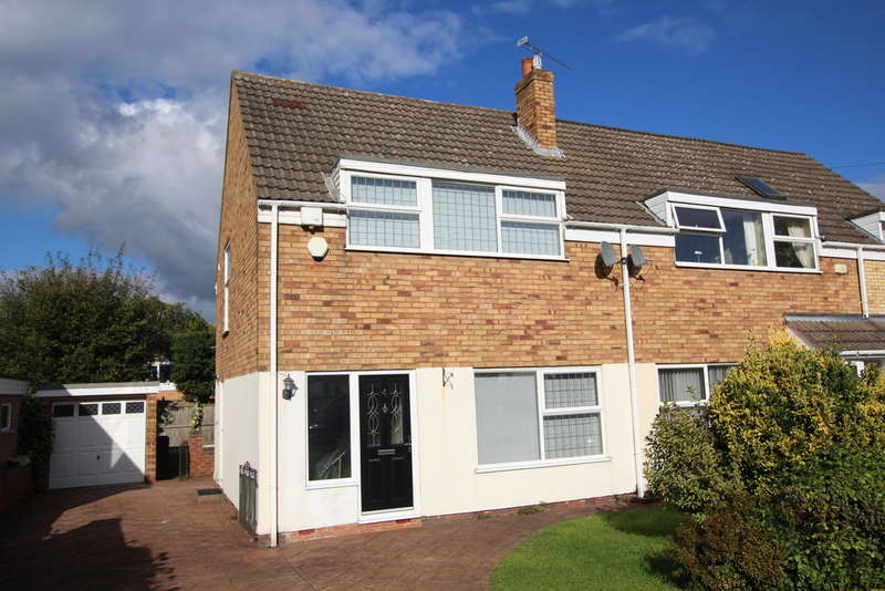 3 Bedrooms Semi Detached House for sale in Foley Wood Close, Streetly, Sutton Coldfield. B74 3PJ
