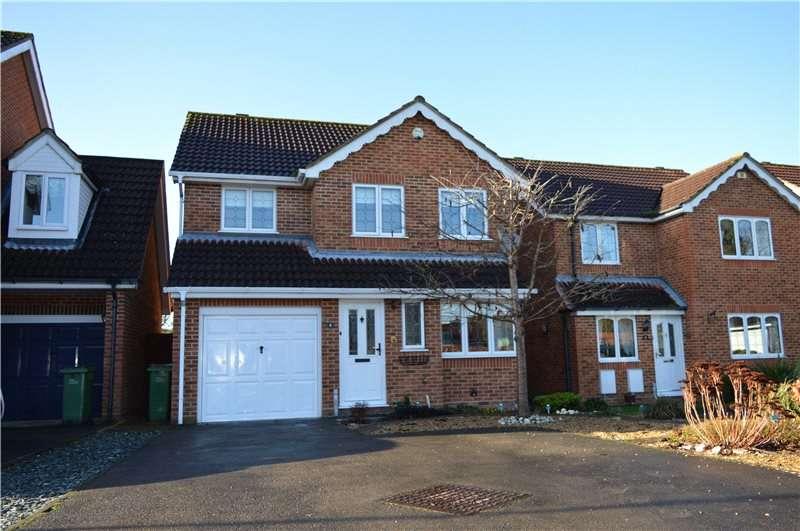 4 Bedrooms Detached House for sale in Ayrton Senna Road, Tilehurst, Reading, Berkshire, RG31