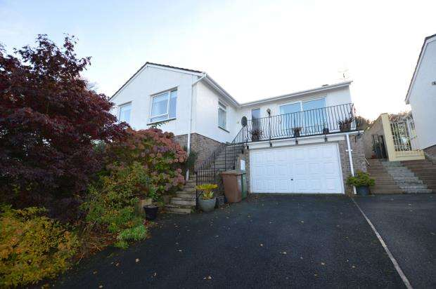 3 Bedrooms Detached Bungalow for sale in Rowland Close, Plymouth, Devon