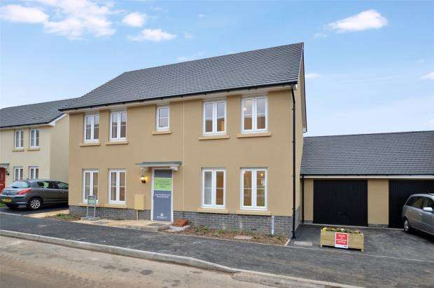 4 Bedrooms Link Detached House for sale in Hawthorn Rise, Windsor Avenue, Newton Abbot, Devon