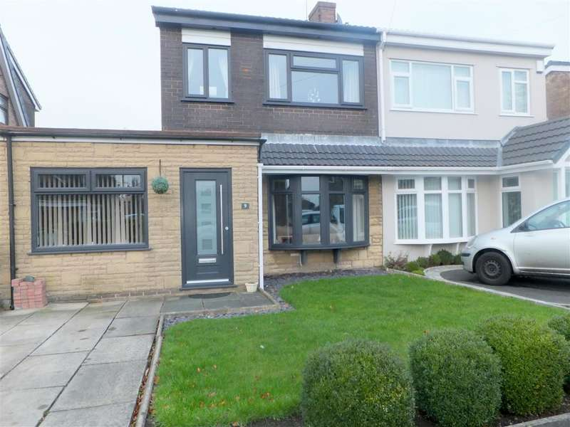 3 Bedrooms Semi Detached House for sale in Thorndyke Close, Rainhill, Prescot