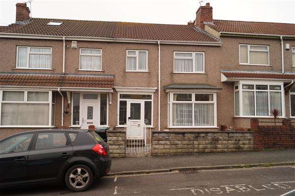 3 Bedrooms Terraced House for sale in Martingale Road, Brislington, Bristol