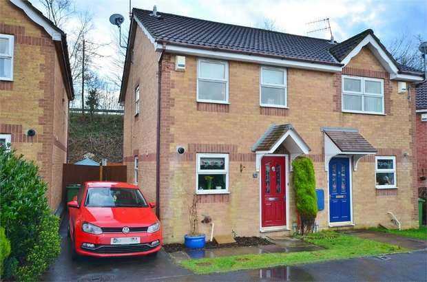 2 Bedrooms Semi Detached House for sale in Y Felin Ffrwd, CAERPHILLY