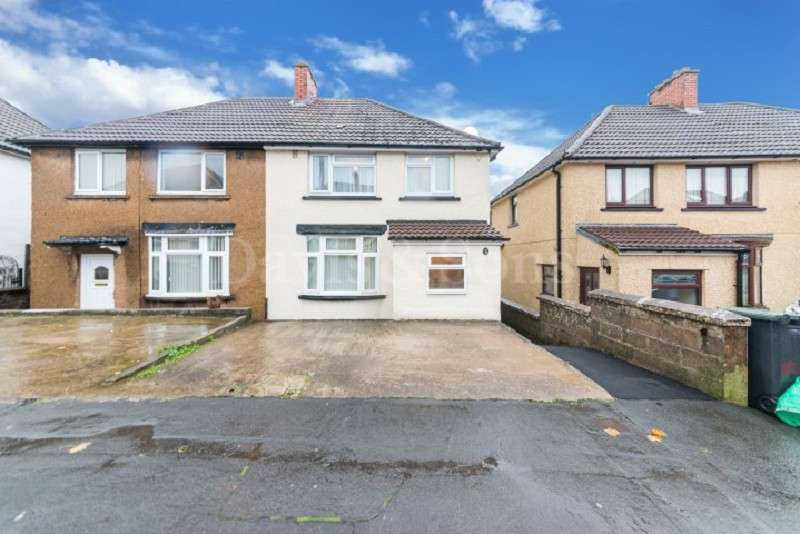 3 Bedrooms Semi Detached House for sale in Gaer Park Drive, Off Bassaleg Road, Newport. NP20 3NL