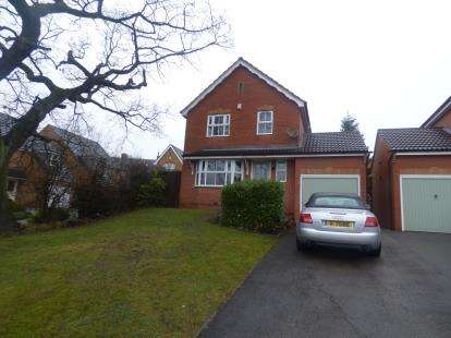 3 Bedrooms Detached House for sale in Whitegates Way, Huthwaite, Sutton In Ashfield, Nottinghamshire