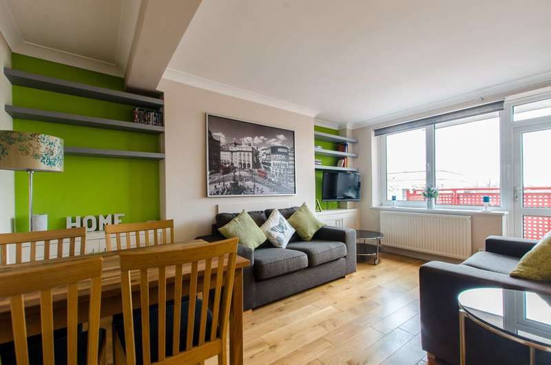 2 Bedrooms Flat for sale in Linsey Street, South Bermondsey, SE16