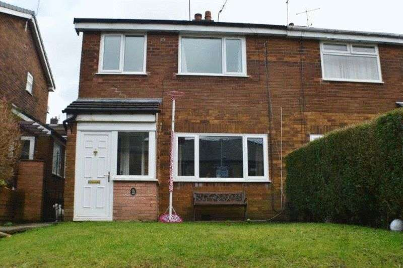 3 Bedrooms Semi Detached House for sale in Ashes Lane, Springhead, Oldham