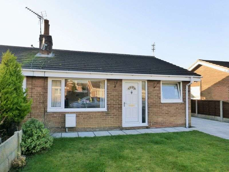 2 Bedrooms Semi Detached Bungalow for sale in Norwood Avenue, Hesketh Bank, Preston