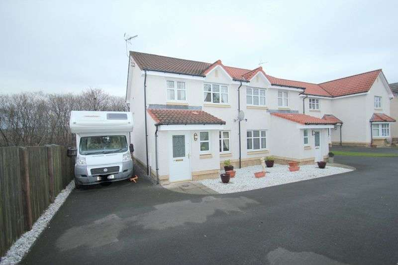 3 Bedrooms Semi Detached House for sale in Delph Wynd, Alloa