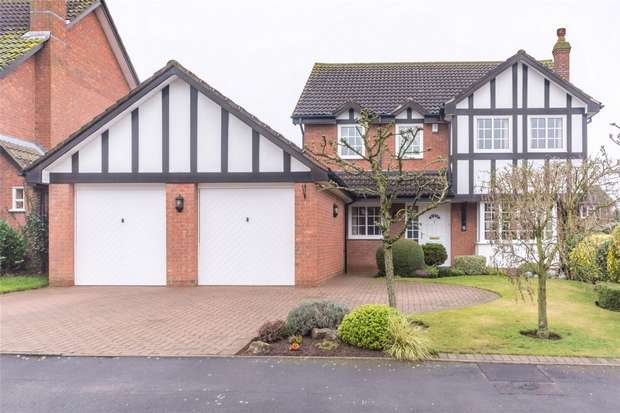 4 Bedrooms Detached House for sale in Tudor Close, Lichfield, Staffordshire