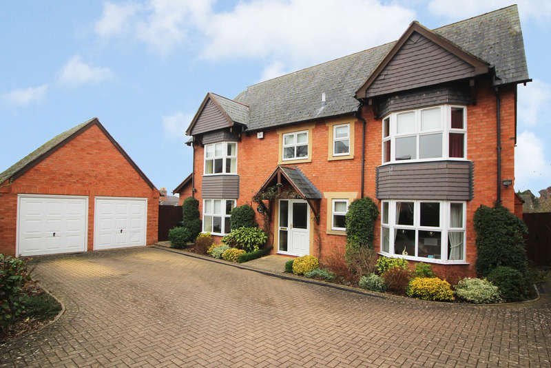 5 Bedrooms Detached House for sale in North Hill Gardens, Malvern, Malvern, WR14