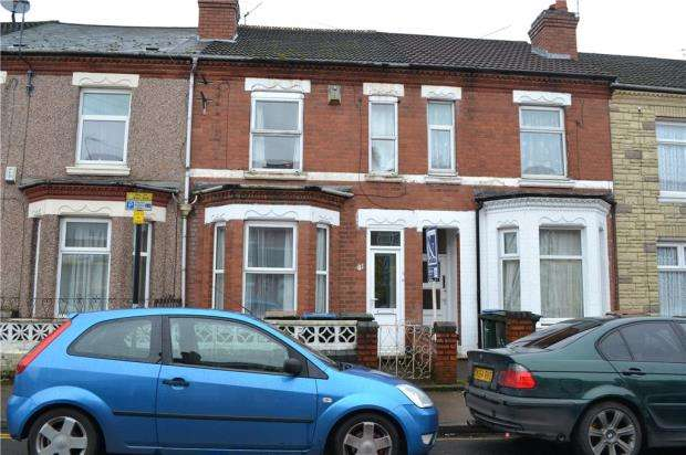 2 Bedrooms Terraced House for sale in Humber Avenue, Stoke, Coventry, West Midlands