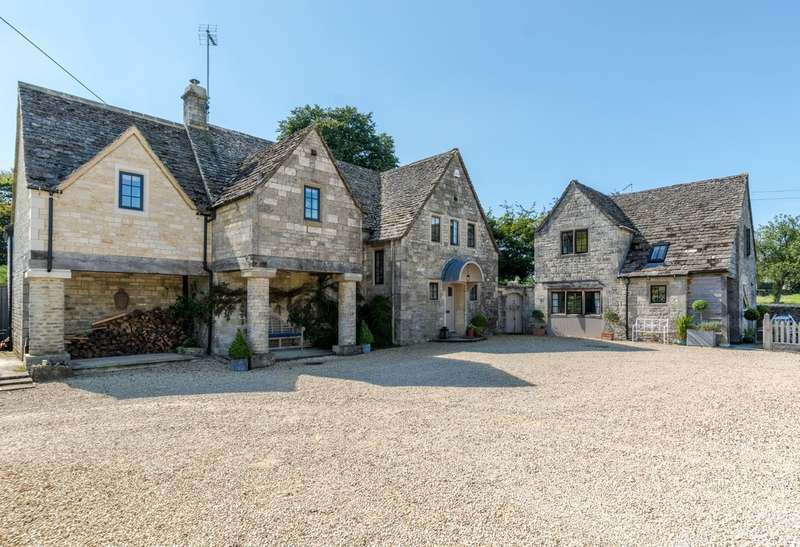 6 Bedrooms Detached House for sale in Beverston, Tetbury