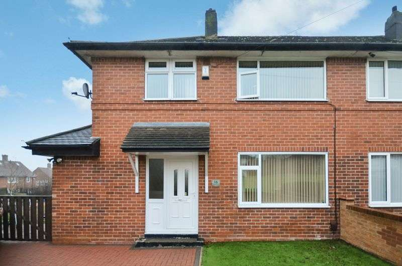 2 Bedrooms Semi Detached House for sale in 16 Murton Close, Leeds, LS14 6EX