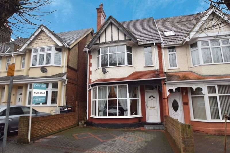4 Bedrooms Semi Detached House for sale in Westbourne Road, Luton