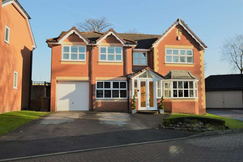 5 Bedrooms Detached House for sale in Woodthorpe Court, Prestwich, Manchester, M25