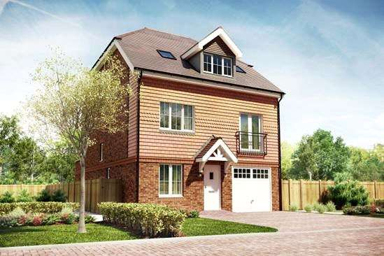 4 Bedrooms Detached House for sale in The Calder, Bagshot Road, Knaphill, Woking, GU212RN