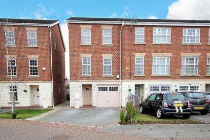 3 Bedrooms Town House for sale in Sargeson Road, Armthorpe, Doncaster, South Yorkshire