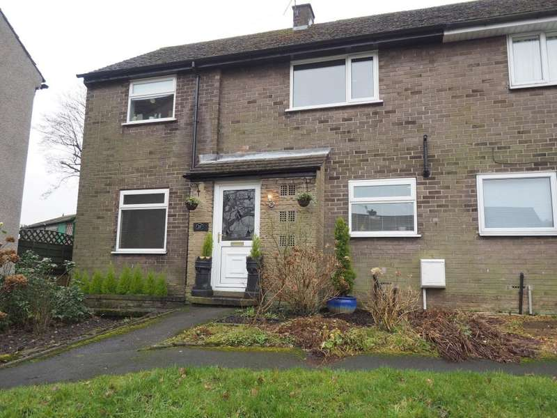 3 Bedrooms Semi Detached House for sale in Reddish Avenue, Whaley Bridge, High Peak, Derbyshire, SK23 7DP