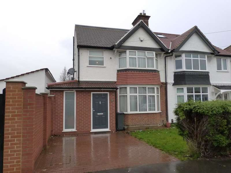 4 Bedrooms Semi Detached House for sale in The Warren, Heston, TW5 0JN