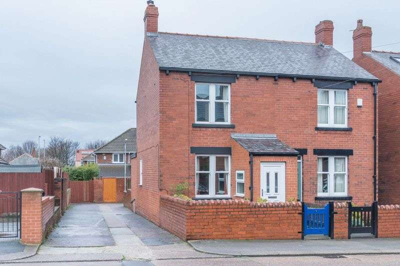 2 Bedrooms Semi Detached House for sale in Beaumont Avenue, Off Broadway, Barnsley S70 6QH - Single Garage At The Head Of The Road