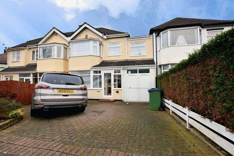 4 Bedrooms Semi Detached House for sale in Chestnut Road, Oldbury