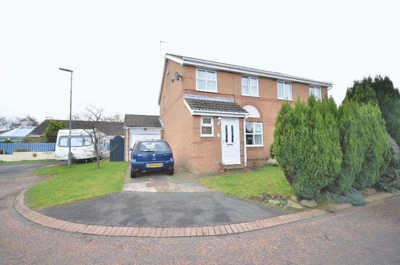 3 Bedrooms Semi Detached House for sale in Cheviot Gardens, Seaham