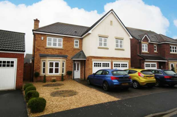 5 Bedrooms Detached House for sale in Annand Way, Newton Aycliffe, Durham, DL5 4ZD