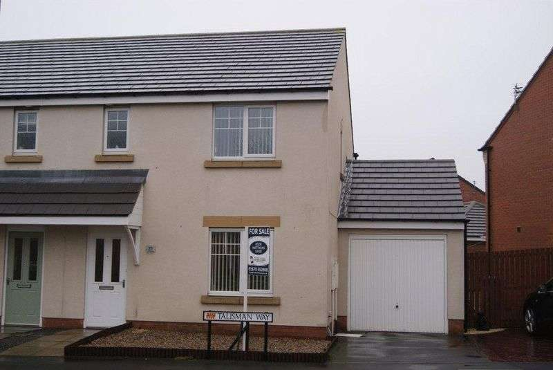 3 Bedrooms Semi Detached House for sale in Talisman Way, Blyth
