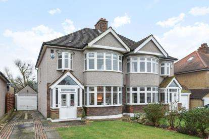 3 Bedrooms Semi Detached House for sale in Highfield Drive, West Wickham