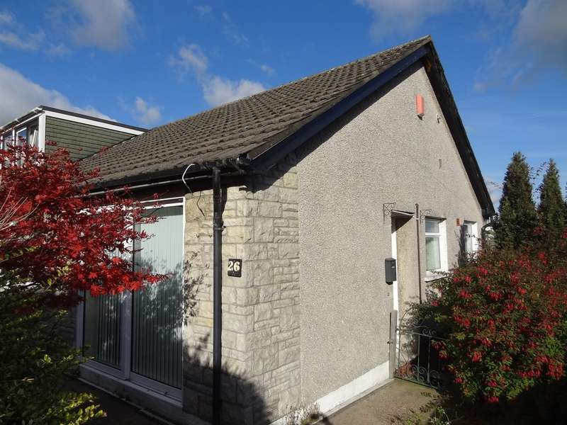 2 Bedrooms Semi Detached Bungalow for sale in Denbigh Way, Barry