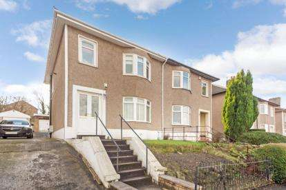3 Bedrooms Semi Detached House for sale in Brownside Road, Burnside