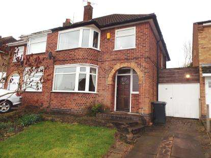 3 Bedrooms Semi Detached House for sale in Denegate Avenue, Birstall, Leicester, Leicestershire