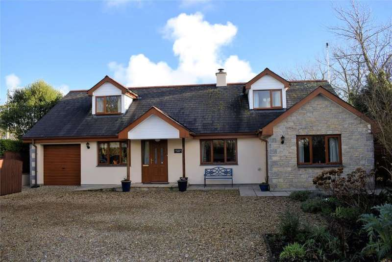 4 Bedrooms Detached House for sale in Garras, Nr. Helston