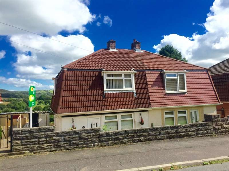2 Bedrooms Semi Detached House for sale in Lon Heddwch, Clydach, Swansea