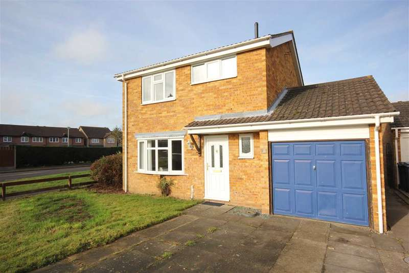 3 Bedrooms Detached House for sale in Lionel Hurst Close, Great Cornard