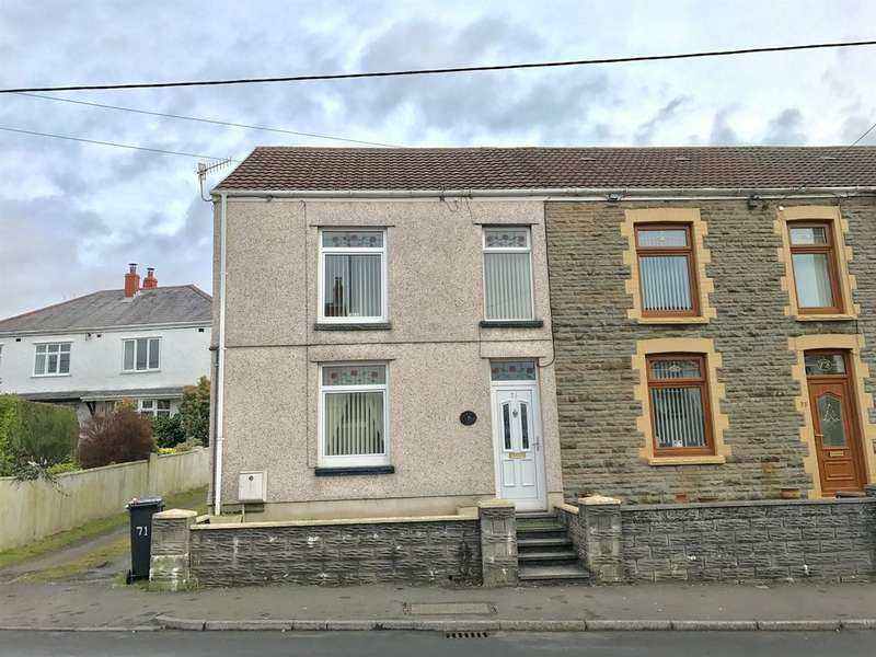 3 Bedrooms End Of Terrace House for sale in Church Road, Seven Sisters, Neath