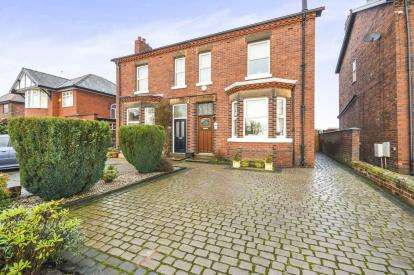 3 Bedrooms Semi Detached House for sale in Newton Road, Lowton, Warrington